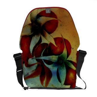 Messenger Bag Rose Hips Design
