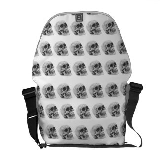 "Messenger Bag ""Skulls"""