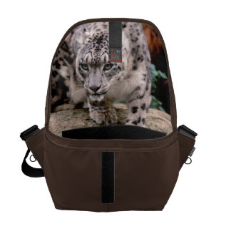 Messenger Bag Snow leopard