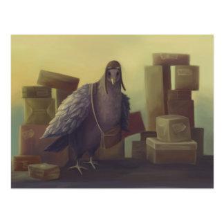 Messenger-pigeon Postcard