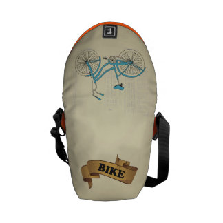 messenger stock market bike courier bag