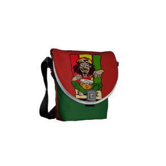 Messenger stock market pq Rastafari Messenger Bag