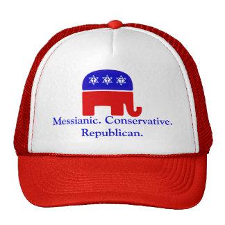 Messianic. Conservative. Republican Trucker Hat