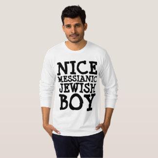 MESSIANIC JEWISH T-shirts, NICE JEWISH BOY T-Shirt