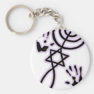 Messianic prints keychain