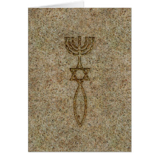 Messianic Seal Stone Card