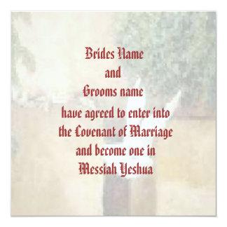 Messianic Wedding invitation
