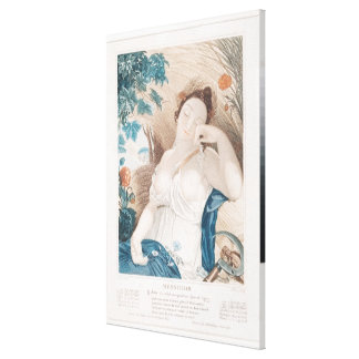 Messidor , tenth month of the Republican Canvas Print