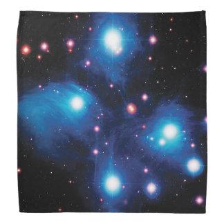 Messier 45 Pleiades Star Cluster NASA Space Photo Bandana