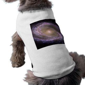 Messier 81 Spiral Galaxy Dog T-shirt