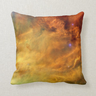 Messier 8 Lagoon Nebula Throw Pillow
