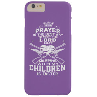 Messing with my Children Barely There iPhone 6 Plus Case