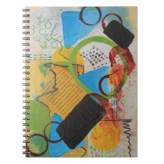 Messy Circles Notebook
