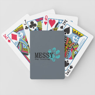 MESSY Dog Training Poker Deck