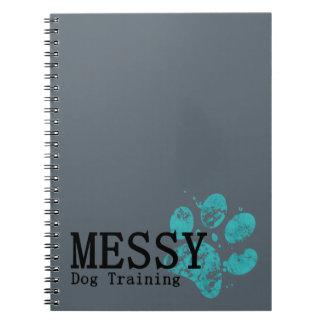 MESSY Dog Training Spiral Notebooks