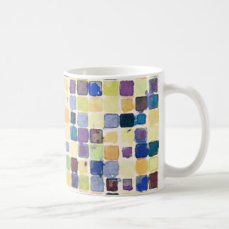 Messy Geometric Tiles Coffee Mug