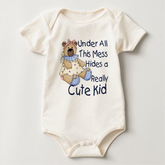 Messy Kid Baby Bodysuit