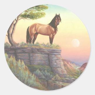 Mesteno Classic Round Sticker