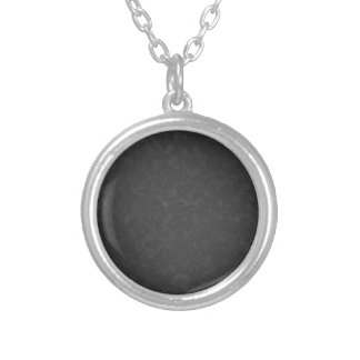 Metal 1 silver plated necklace