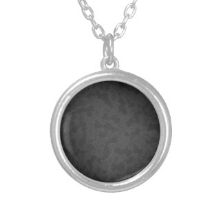 Metal 2 silver plated necklace