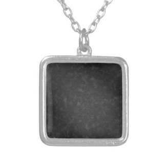 Metal 3 silver plated necklace