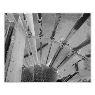 metal abstract photo print