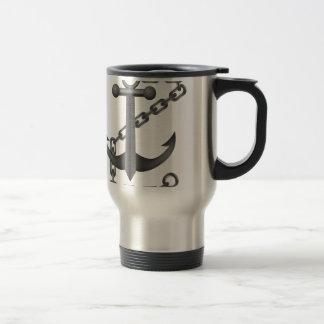 metal anchor travel mug