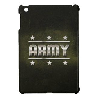 Metal Army Text iPad Mini Covers