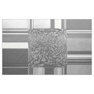 metal art silver 03 fabric