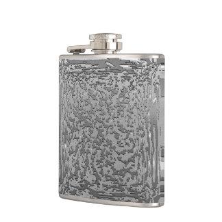 metal art silver 03 hip flask