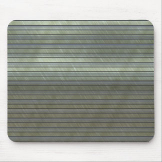 metal art stripes mouse pad