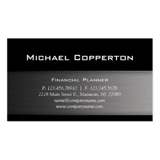 Metal Automotive Professional Plain Cool Business Card