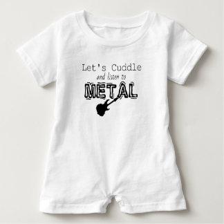 Metal Baby Romper