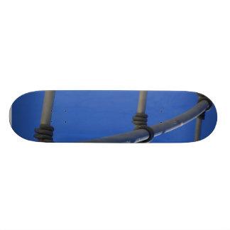Metal Bars Sculptures Skate Board Decks