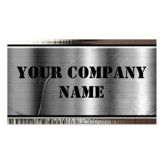 Metal Bold Business Cards