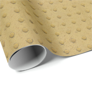 Metal Button Plate Tread Flooring Yellow