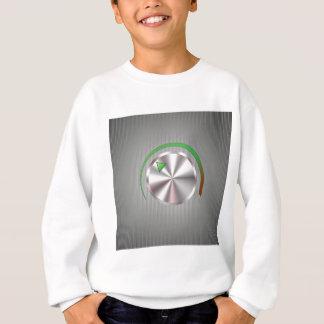 Metal  Button Sweatshirt