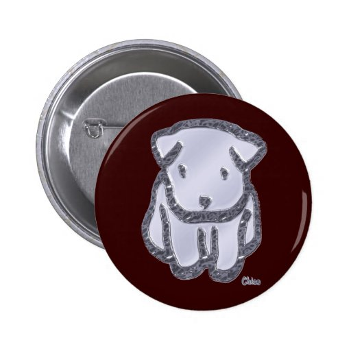 Metal Chico Pinback Button