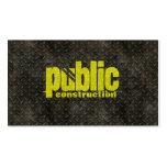 Metal Construction Welder Pattern Pack Of Standard Business Cards