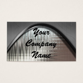 Metal Curve Business Cards