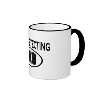 Metal Detecting Dad T-shirts and Gifts. Ringer Mug