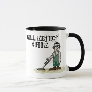 Metal Detecting Design Mug