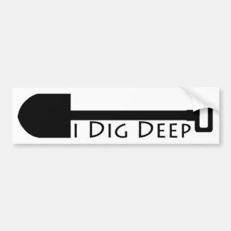 Metal Detecting -Treasure Hunters -Relic Hunters Bumper Sticker