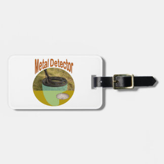 Metal detector luggage tag: Room for your name Luggage Tag