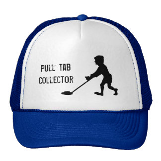 Metal Detector Pull Tab Collector Silhouette Hat
