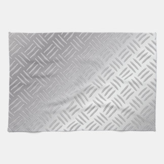 Metal diamond pattern kitchen towel