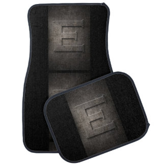 Metal E Monogram Set of Car Mats Car Liners