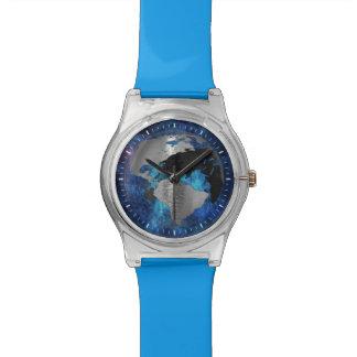 Metal Earth Globe Wristwatch