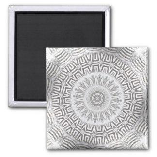 METAL Element Kaleido Pattern Square Magnet