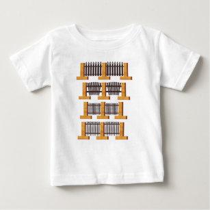metal fences baby T-Shirt